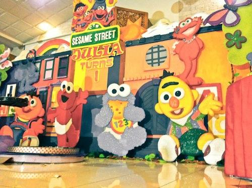 Sesame Streeet Theme Birthday Party