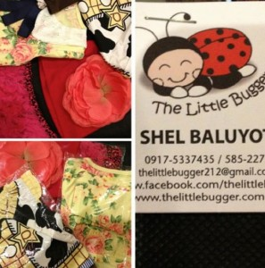 The Little Bugger loot for Sherilyn Reyes Tan's daughter Eia