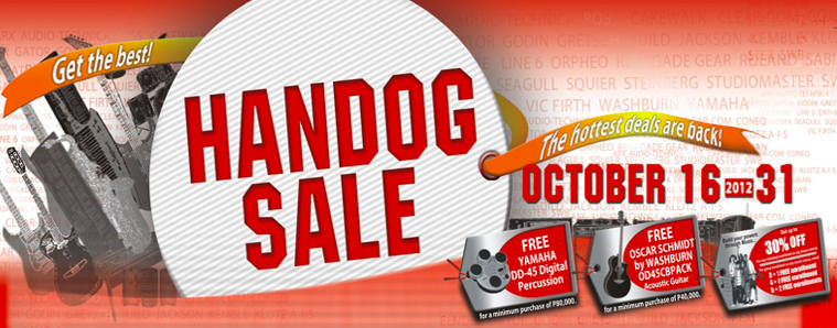 GA Yupangco Handog Sale 2012