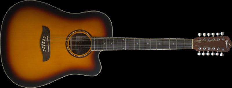 Oscar Schmidth OD45CE Acoustic Electric Guitar