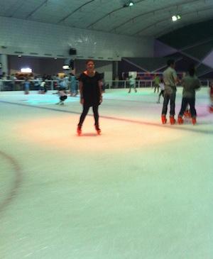 Sub Zero Ice Skating at Mega Bangna