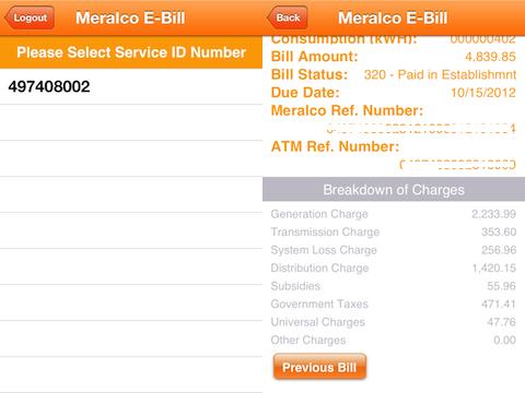Meralco Virtual Engine Move Windows Phone App