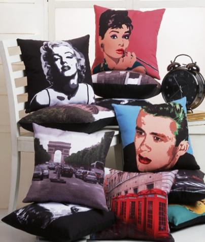 ARQ Curtains Retro Pillows