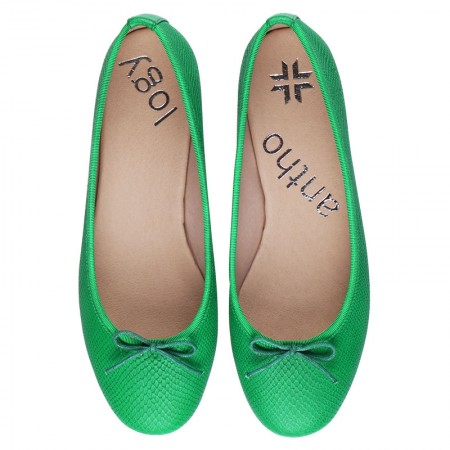 ANTHOLOGY SHOES GREEN VERONA
