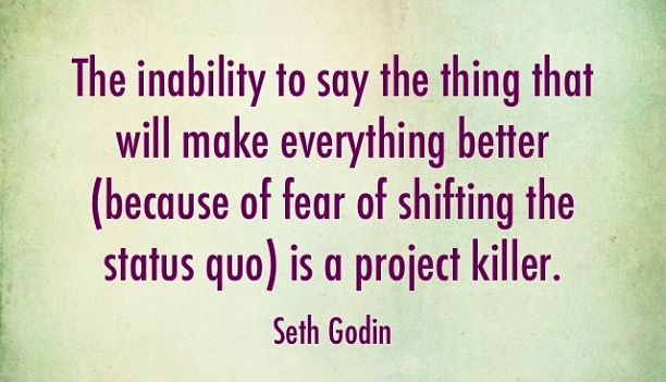 inability to speak up is a project killer