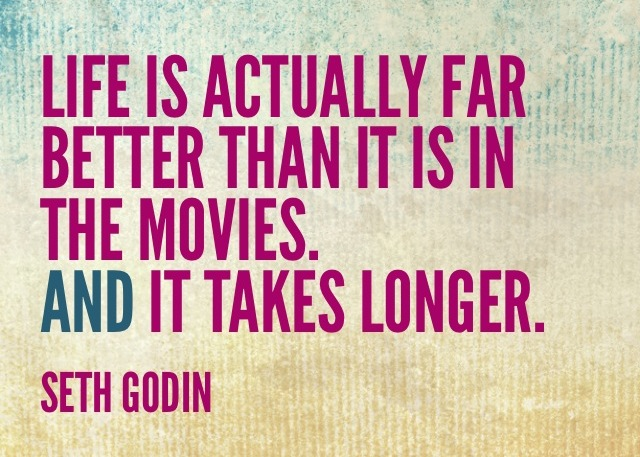 life is actually better than movies