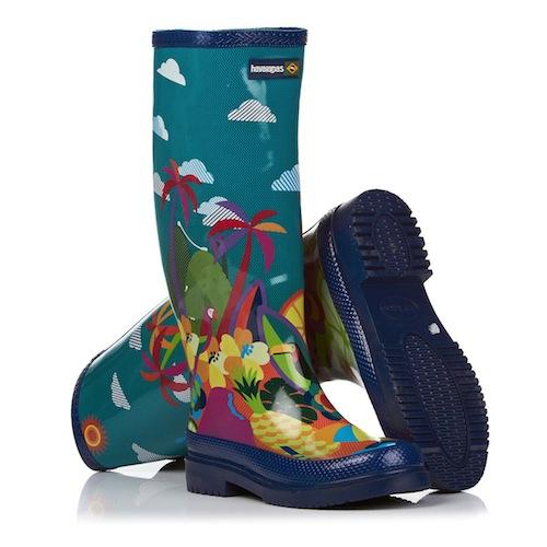 Havaianas Always Summer Print Rain boots