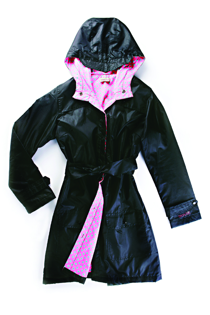 Quarter to Nine raincoat for women