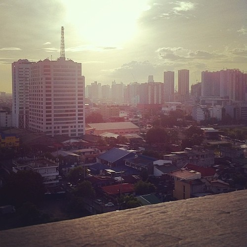 ortigas sunset